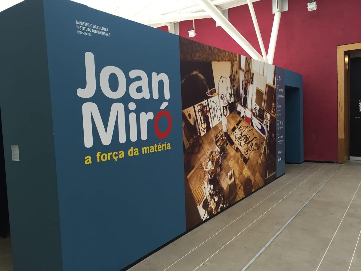 Joan Miró em São Paulo