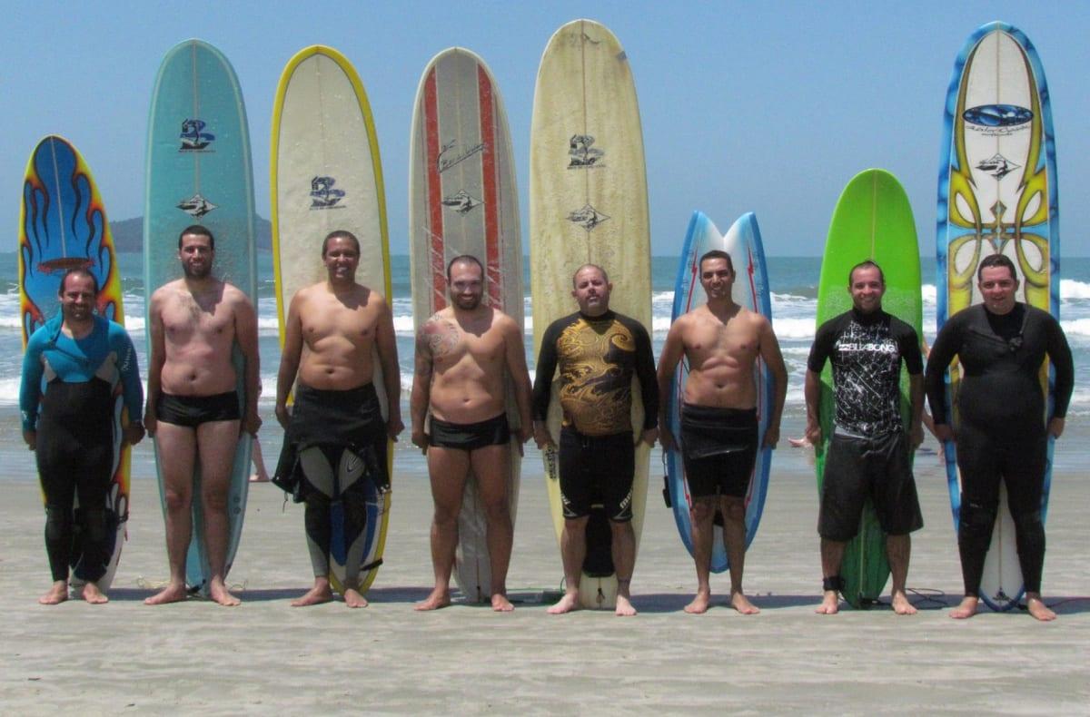Nove Surfriends: o Resultado da Soma entre o Surf e a Amizade