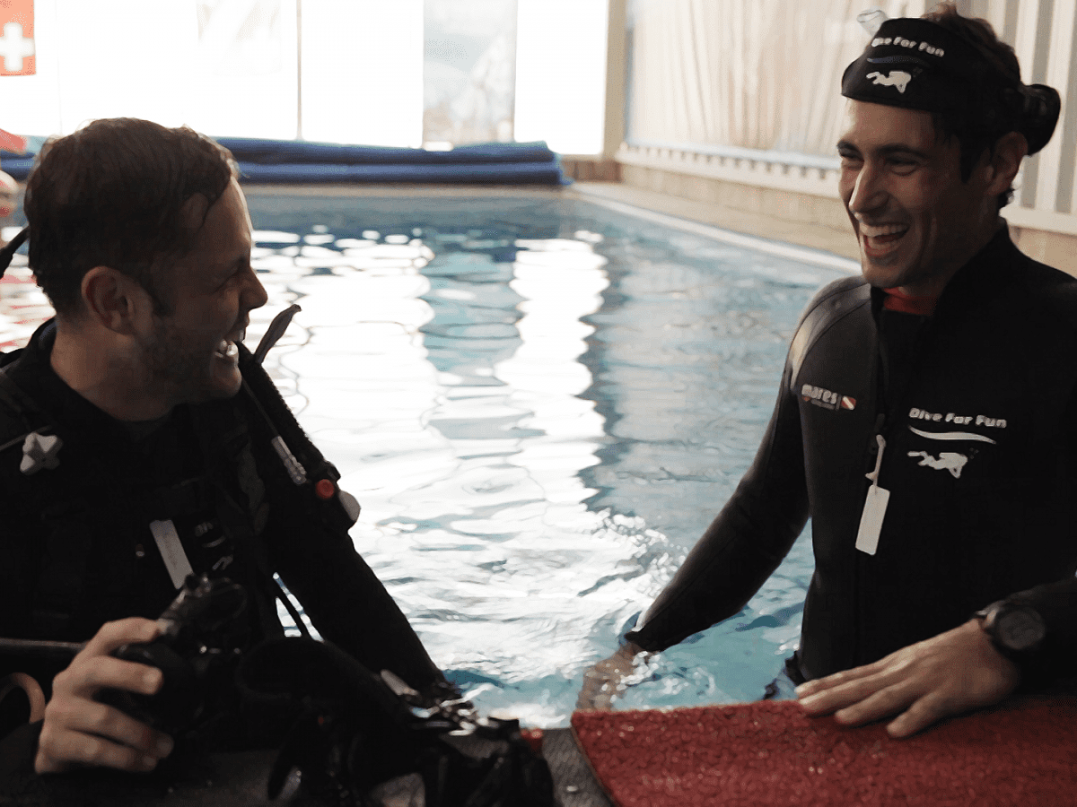MOVE IT – em nosso terceiro episódio nós visitamos uma escola de mergulho