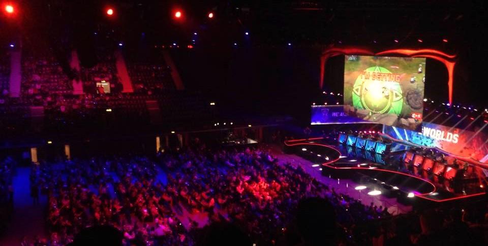 Vista da arquibancada nas quartas de final em Londres - Foto por Victor Alves (2)