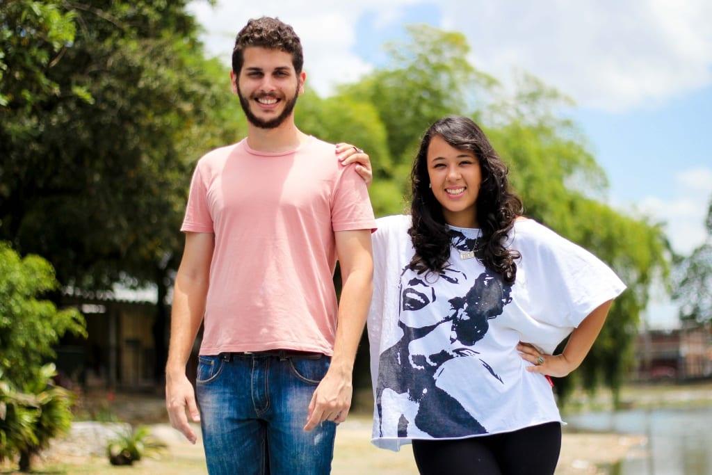 Bruna Monteiro e Victor Maristane, idealizadores do Alem da Cura. Foto - Caio Calado-Divulgacao (1)