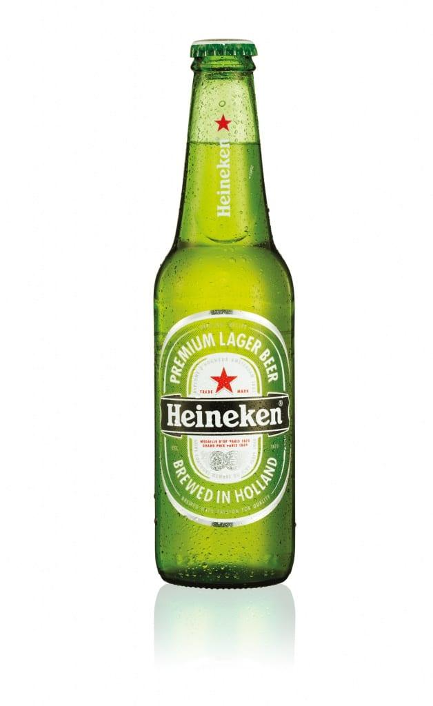 Heineken-label
