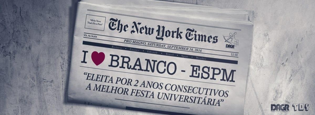I Love Branco – A Festa Universitária que Vai Transformar São Paulo em Nova York