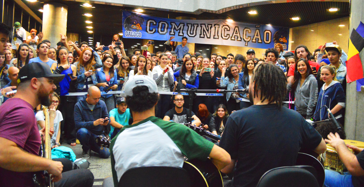 Confira Como Foi o Pocket Show do Maneva no Campus da FMU