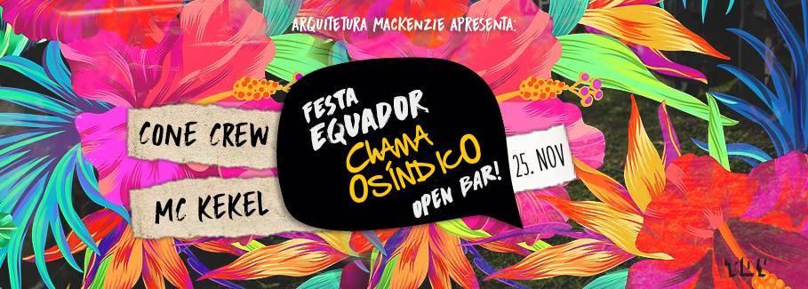 5 motivos para você colar na Equador – CHAMA O SÍNDICO!