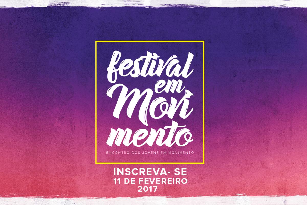 """Festival """"Em Movimento"""" promove evento sobre o papel dos jovens na transformação social – inscreva-se !"""