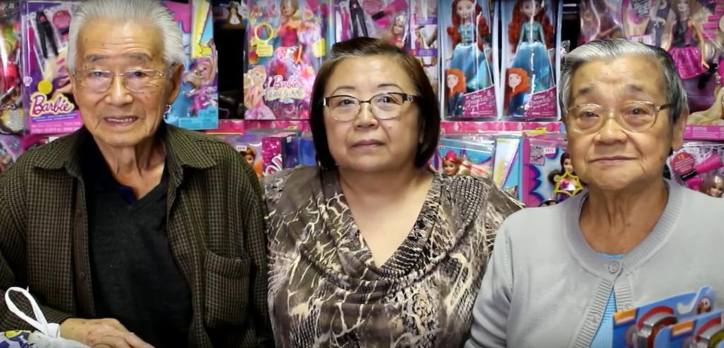 Sr. Morio, Silvia Saito, Michiko Saito