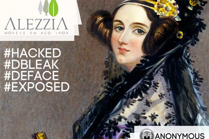 Após polêmica no Facebook, Anonymous Brasil invade site da empresa Alezzia – entenda o caso