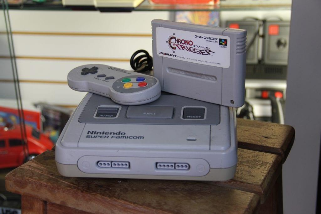 A primeira versão do conhecido Super Nintendo ou SNes