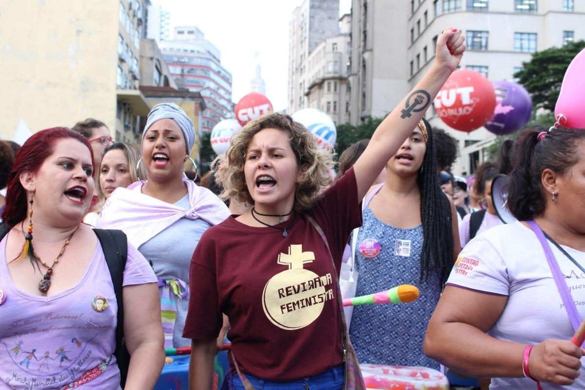 Greve Internacional das Mulheres – confira as fotos de Ana Amorim e saiba mais sobre o movimento