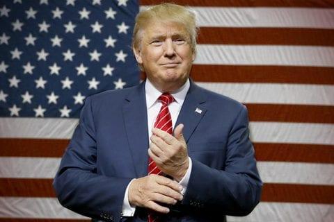 Donald Trump tem seu pronunciamento de vitória desmonetizado pelo Youtube. Foto: Reprodução.