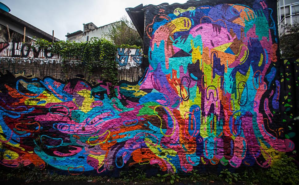 O Grafite e a Cidade Linda