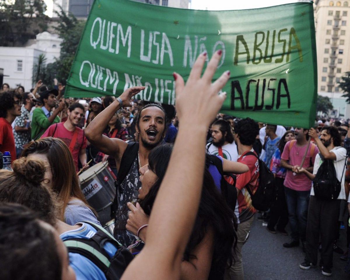 Marcha da Maconha na Avenida Paulista