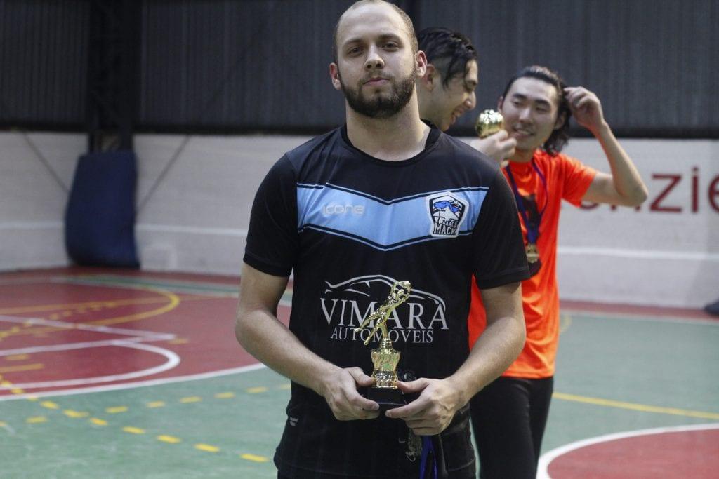 Gabriel Durazzo, o melhor goleiro da Taça RW.