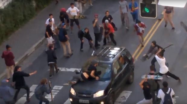 O atropelamento de skatistas na rua Augusta e a nossa sociedade descontrolada