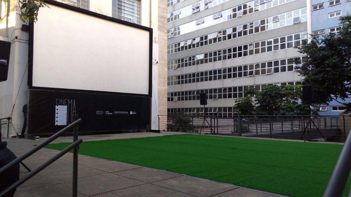 Centro Universitário Maria Antônia ganha cinema ao ar livre