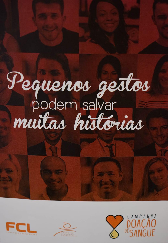 Casper Líbero Realiza Campanha De Doação De Sangue Fala