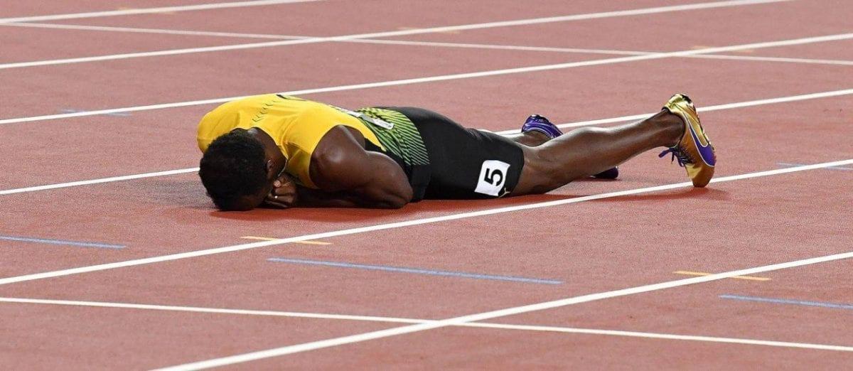 O tempo finalmente venceu Usain Bolt