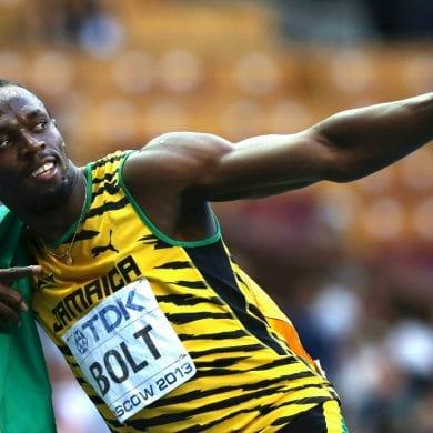 Usain Bolt testa positivo para coronavírus. (Foto: AFP)
