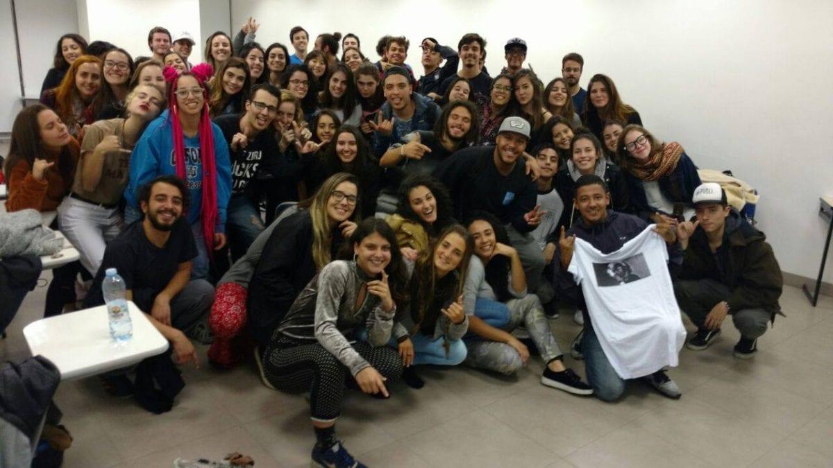 Alunas promovem primeira Batalha de Rap dentro da Cásper Líbero