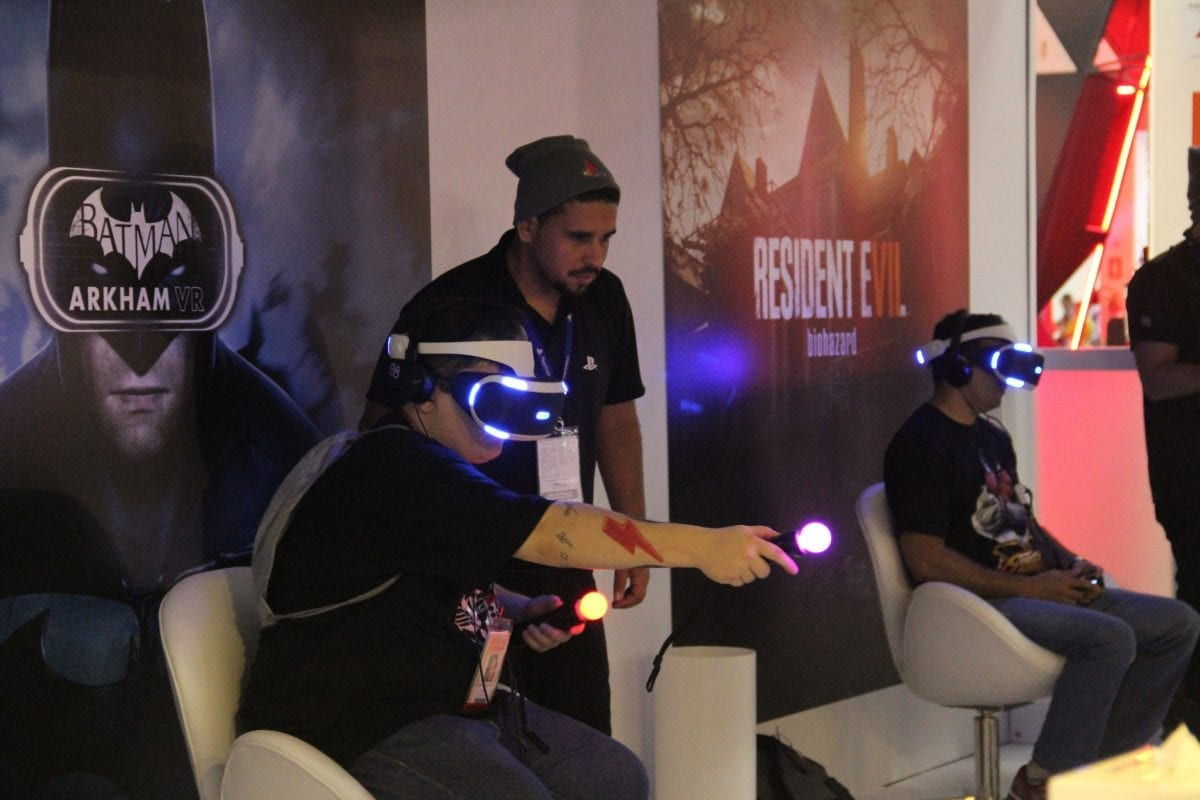 Realidade Virtual: conheça os jogos disponíveis para teste na BGS10