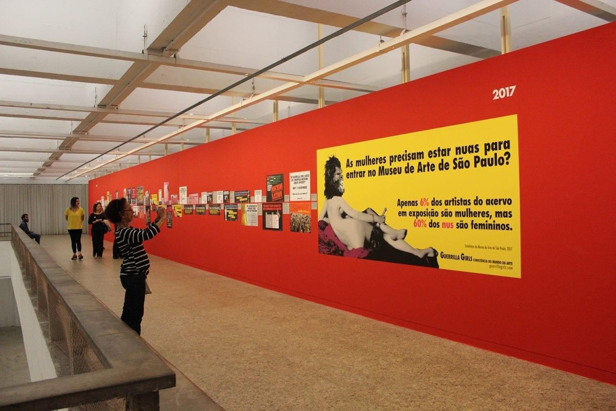 Conheça as Guerrilla Girls, grupo feminista que denuncia através da arte