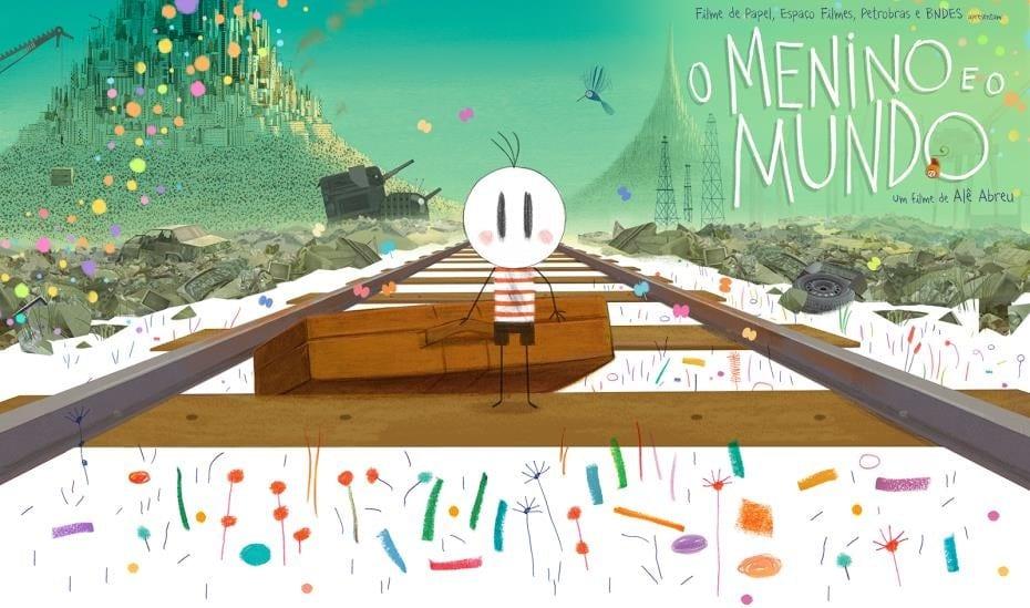 Cartaz do filme O Menino e o Mundo