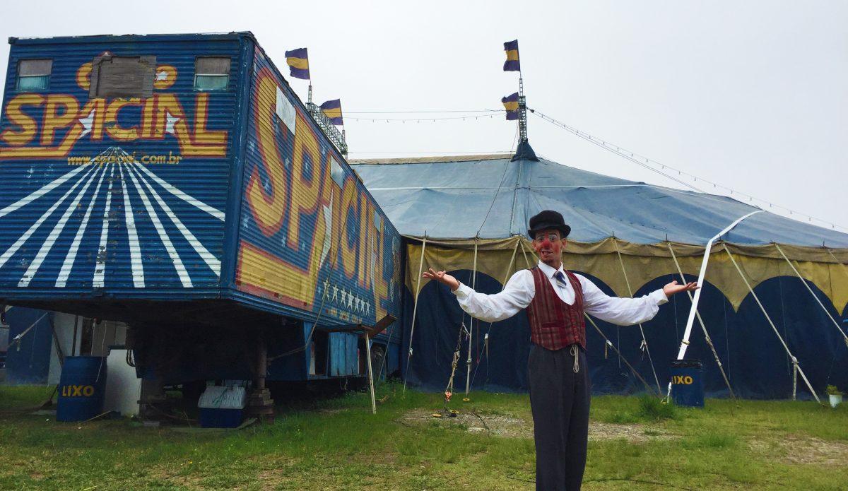 Conhecemos os bastidores de um Circo na cidade de São Paulo