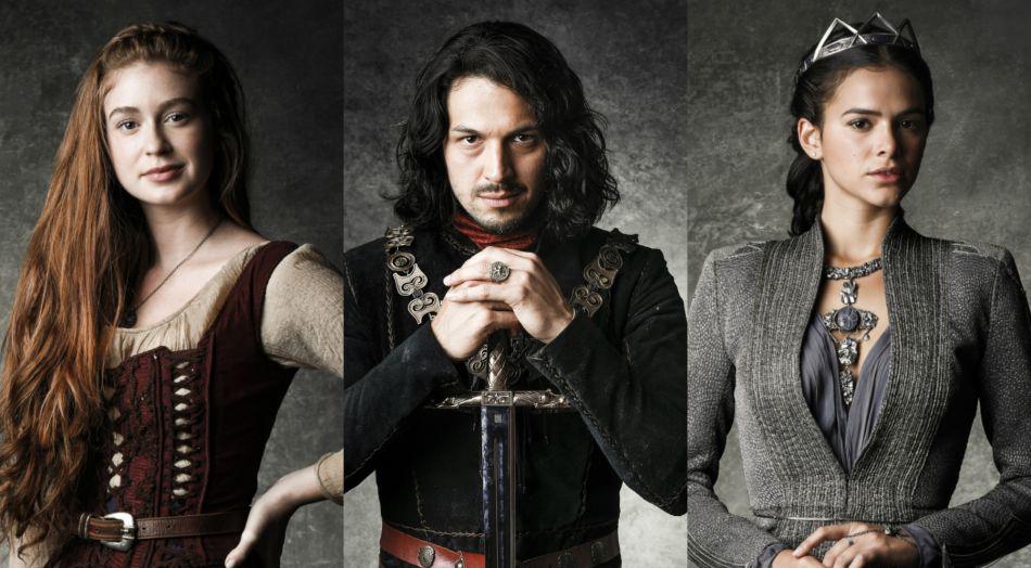 Elenco e produção da Globo relembram sucessos de 2017 e anunciam novela de tema medieval para 2018