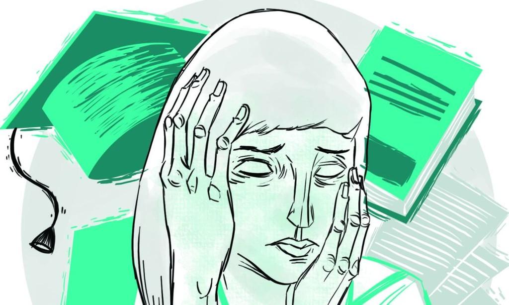 A pressão psicológica durante a vida acadêmica