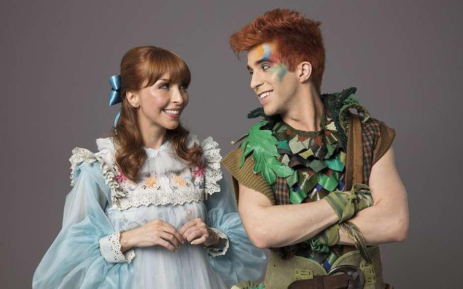 Peter Pan estreia no Teatro Alfa com casa cheia