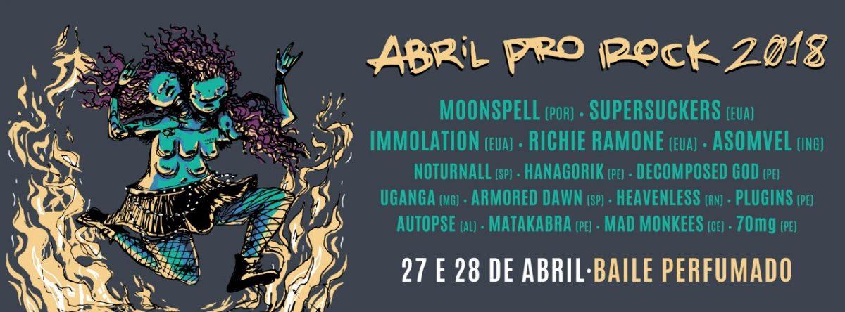 Festival Pró Rock em Recife
