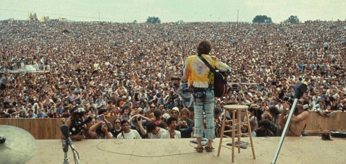 Woodstock, 50 anos de paz e música