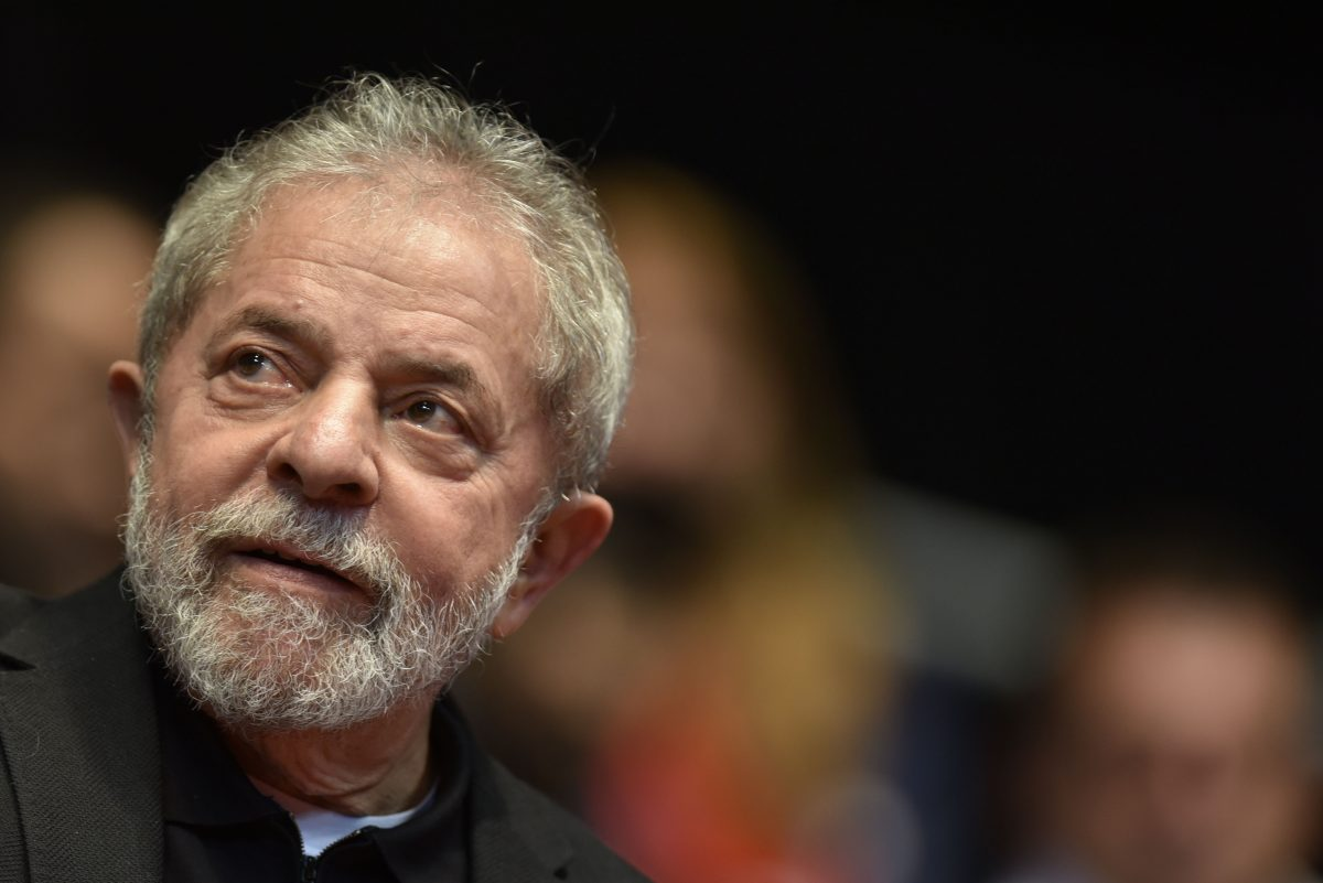 Lula Candidato – Manifestação no Registro do Ex-Presidente