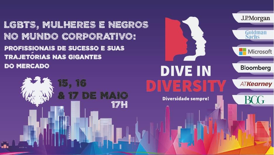 Dive in Diversity exalta a diversidade no mundo corporativo