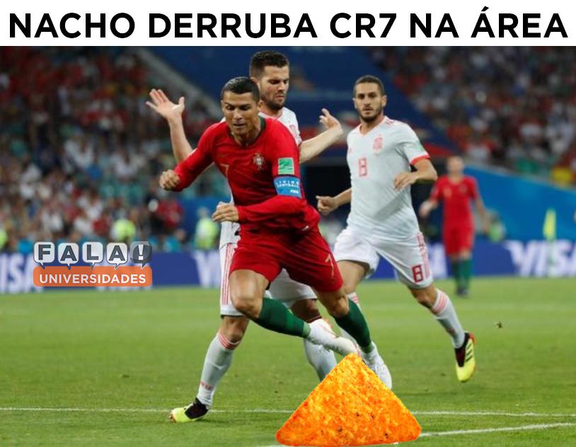 Os Melhores Memes De Portugal X Espanha Fala