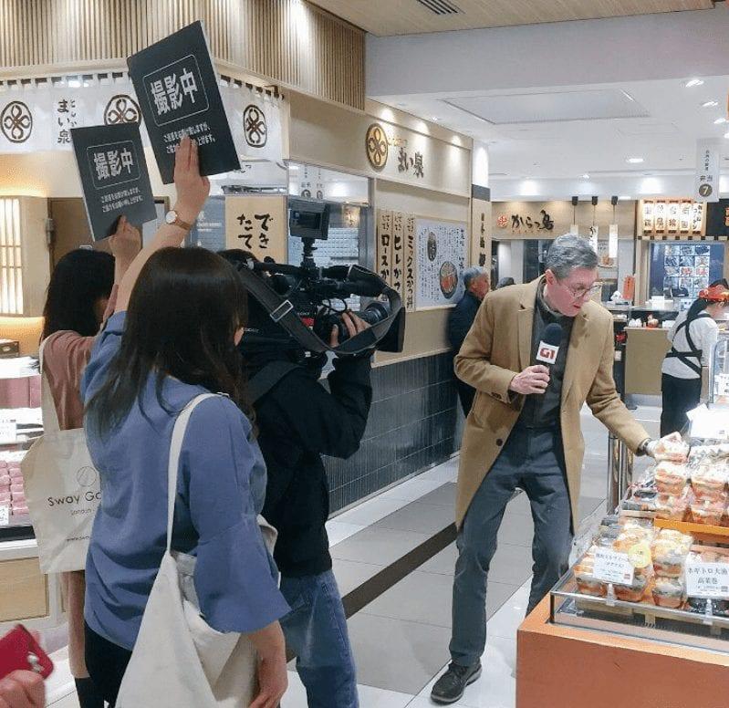 Márcio Gomes conta como é ser correspondente no Japão