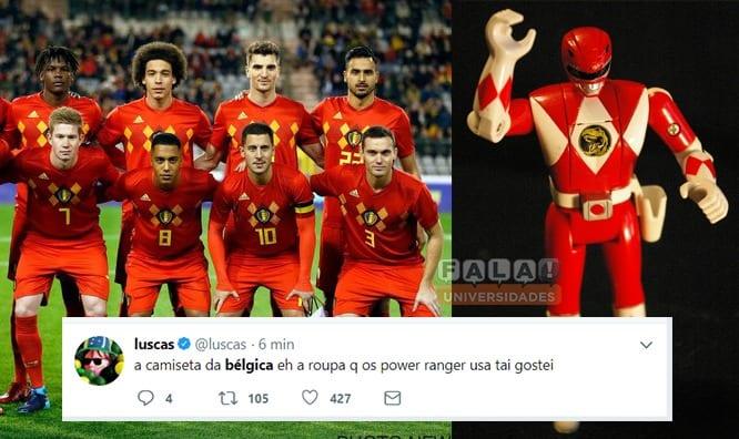 Os Melhores Memes de Bélgica e Inglaterra