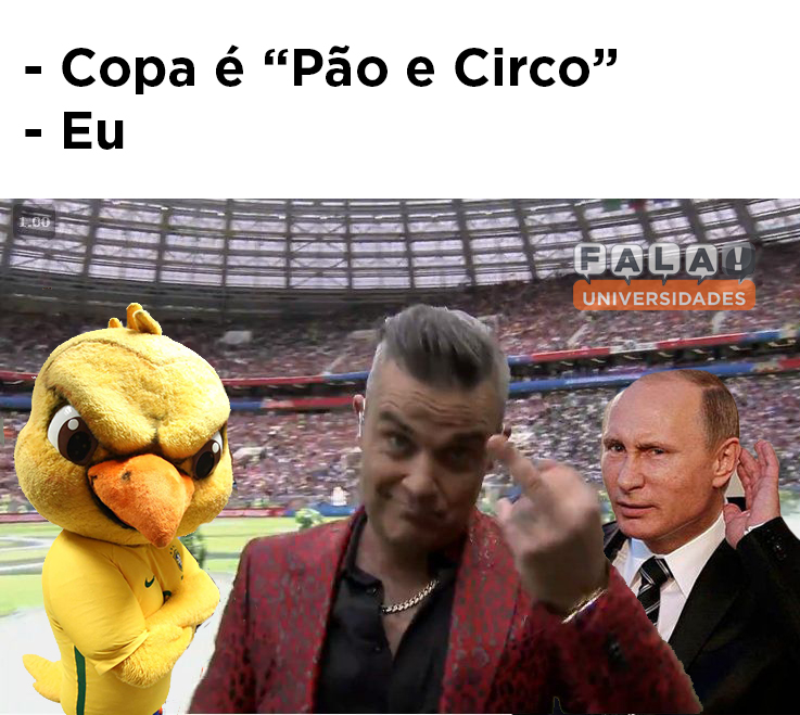 Os Melhores Memes Da Abertura Da Copa Do Mundo Fala