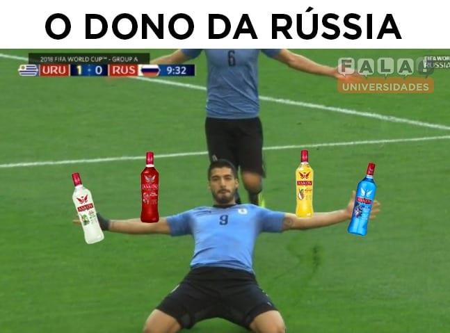 Copa Do Mundo Os Melhores Memes De Uruguai E Rússia Fala