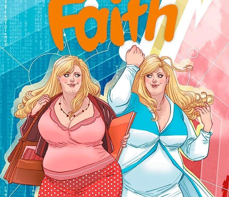 Faith, a heroína plus-size, ganhará um filme