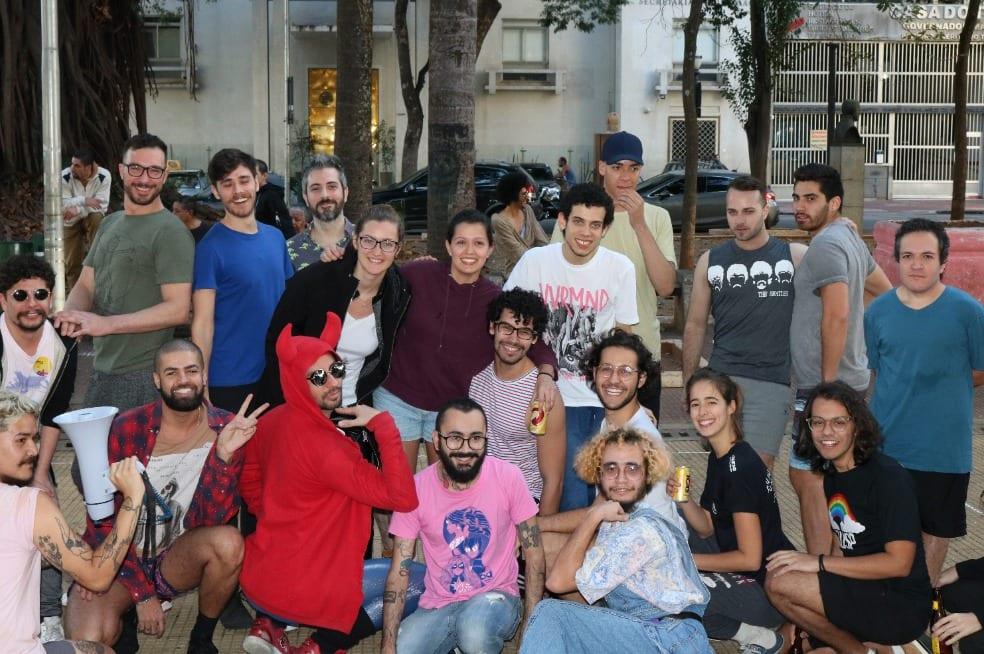 Gaymada na III Semana da Diversidade da FMUSP