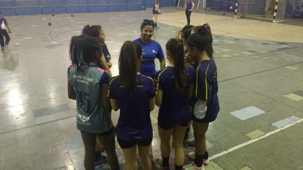 As Jovens Atletas do Handebol Brasileiro