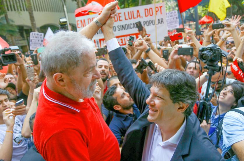 Entenda a estratégia: Lula, Haddad e Manuela D' Ávila