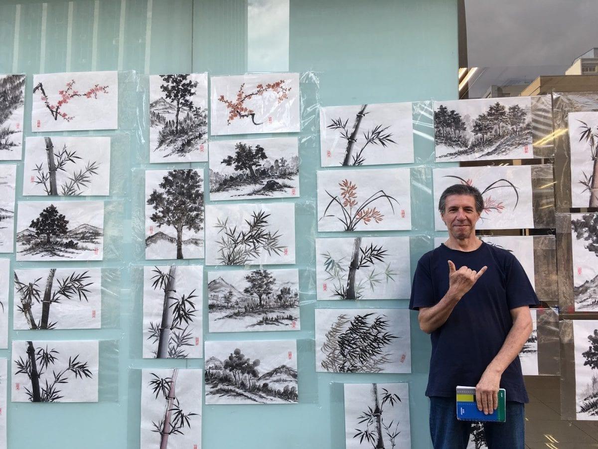A Arte é Para Todos – Vendedores Ambulantes