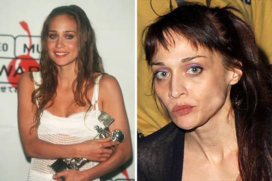 Fiona Apple antes e depois das drogas.