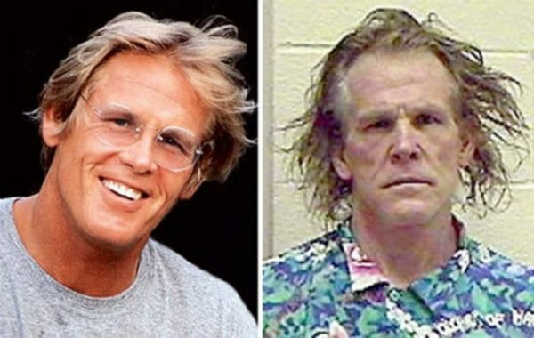 Nick Nolte antes e depois das drogas.