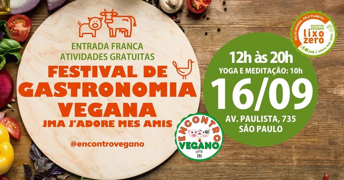 São Paulo: Festival de Gastronomia Vegana na Av. Paulista