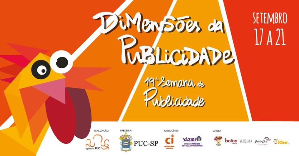 São Paulo: 19ª Semana de Publicidade e Propaganda na PUC