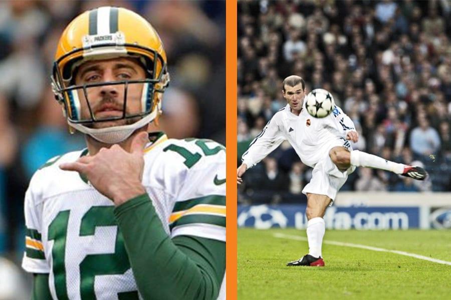 Quem seriam os jogadores da NFL no futebol comum?